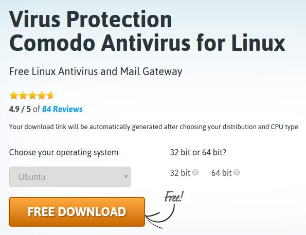 Virus Protection Comodo Antivirus for Linux